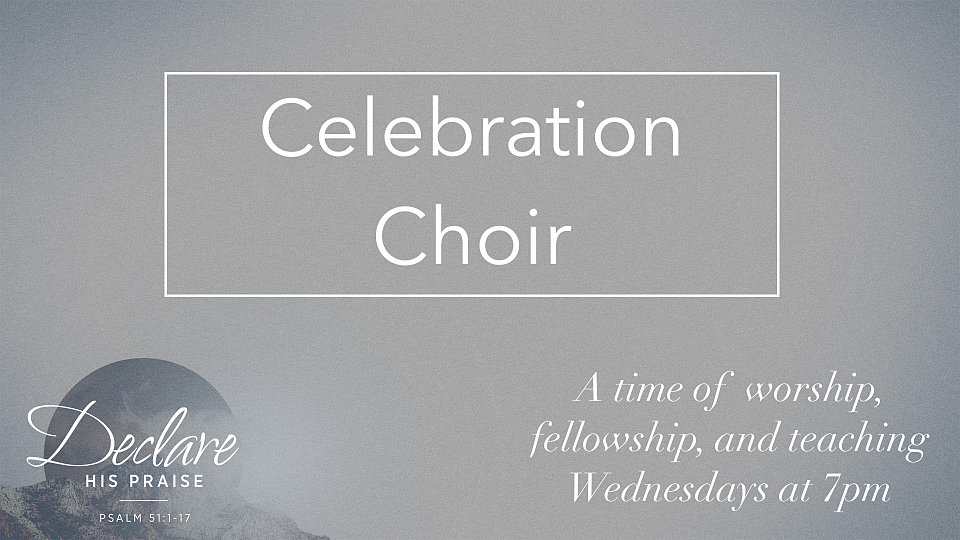 celebration choir promo 2